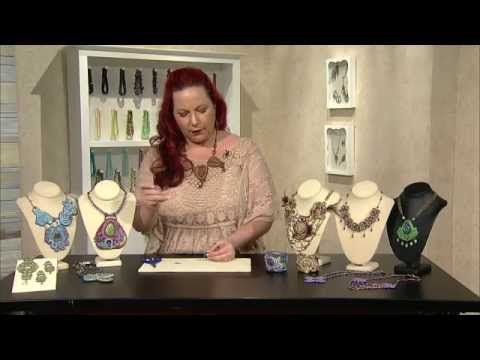 Jewel School: Soutache and Bead Embroidery with Amee K. Sweet-McNamera - YouTube