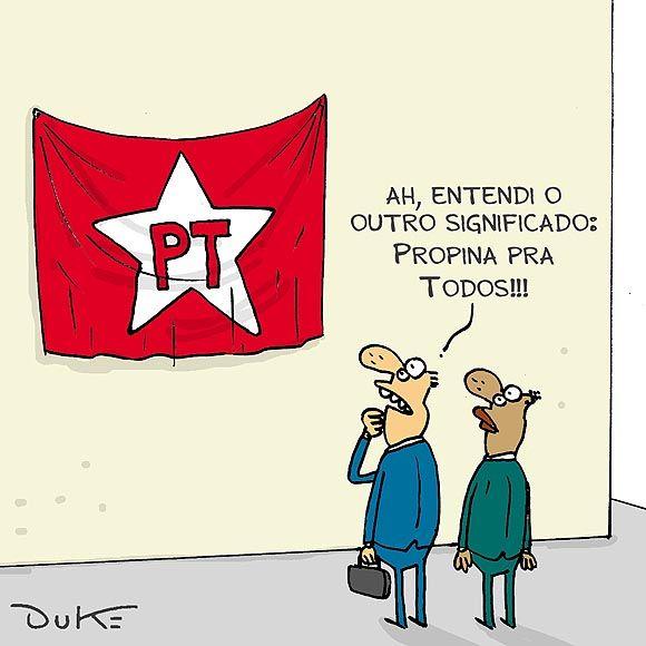 """PT quer implantar uma democracia de mão única. """"A democracia brasileira estaria sendo deturpada para favorecer grupelhos no poder, pois quando se faz necessária a retirada do bando de criminosos, o povo não tem mais a autoridade antes configurada para eleger, fica sem poder para destituir. É uma democracia de mão única?"""""""