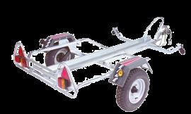 Wolder Remolques portamotos · PM310 Ligero  Remolque ligero para transportar una moto.