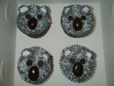 Australia Day - Koala patty cakes