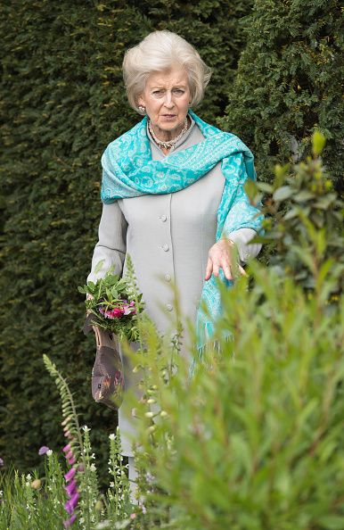 Princess Alexandra attends Chelsea Flower Show press day at Royal Hospital Chelsea on May 23, 2016 in London, England.