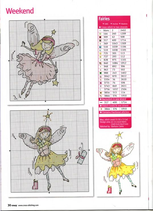 Gallery.ru / Фото #5 - Cross Stitch Crazy 137 - WhiteAngel