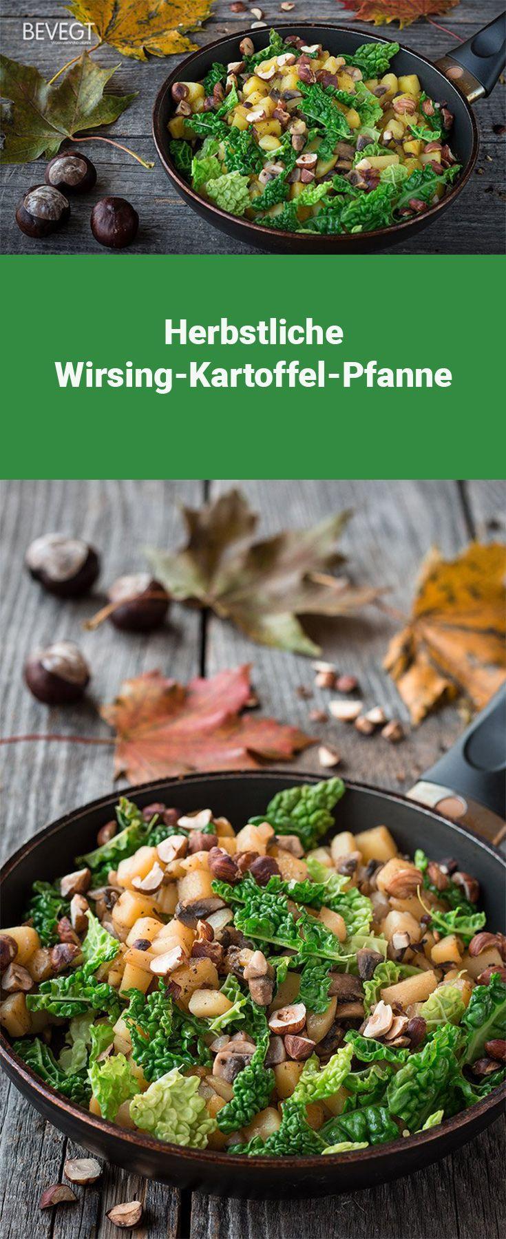 Herbstliche Wirsing-Kartoffel-Pfanne: schnell gemacht und lecker!