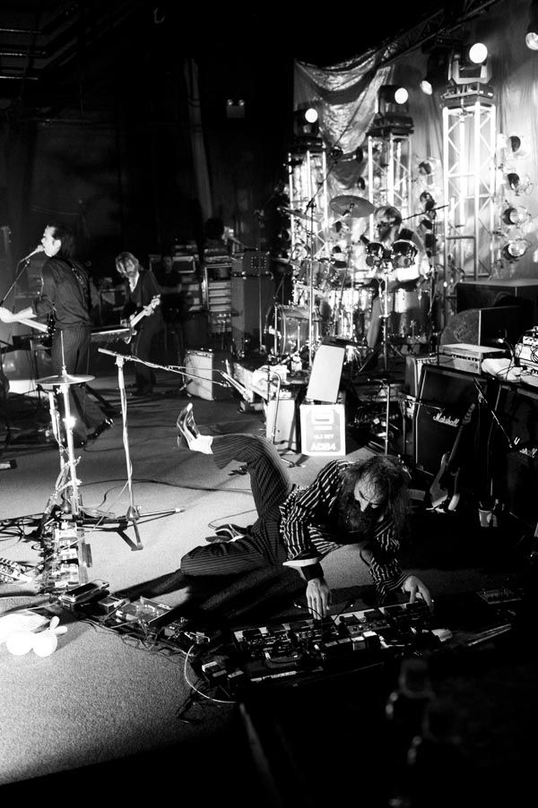 Grinderman performing live