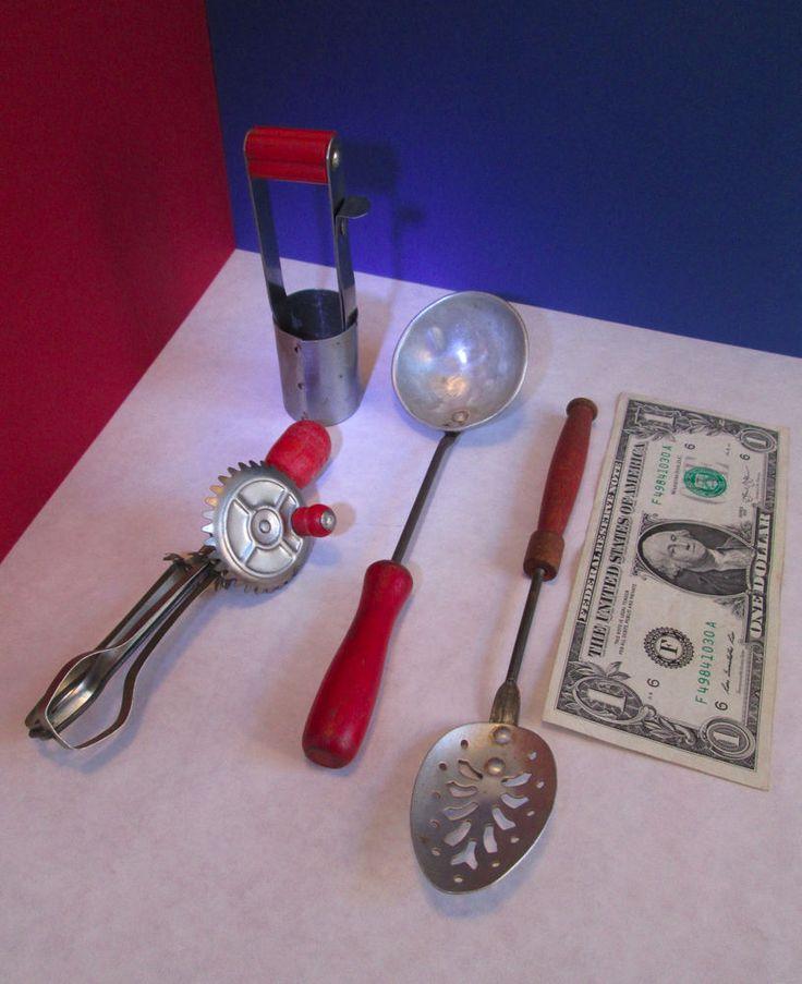 1000 Images About Vintage Toy Kitchen Utensils On Pinterest Children Cooking Kitchen Tools