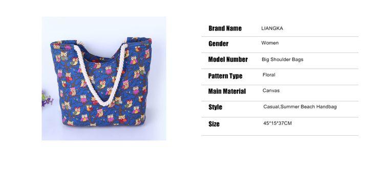 Симпатичные Сова большая холщовая хозяйственная сумка большие сумки на ремне для женщин Сумка летняя пляжная сумка Женщины Мода купить на AliExpress