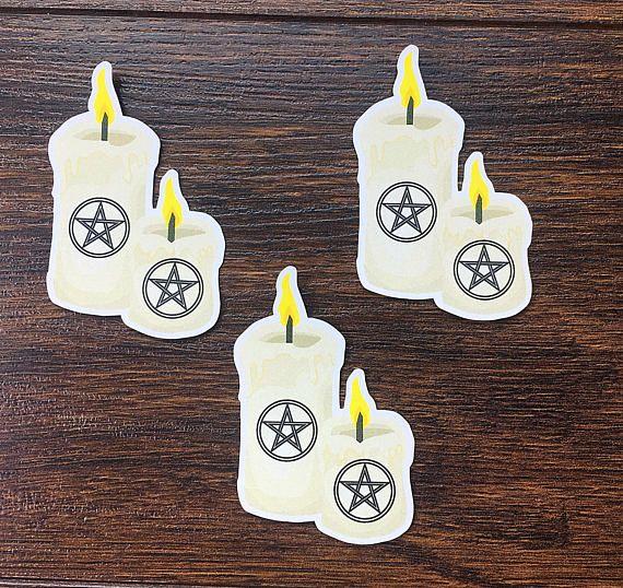 Pagan candle diecut