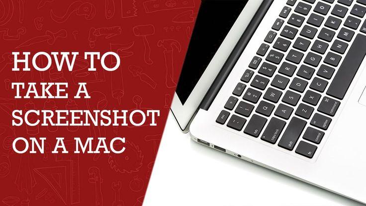 How to Take a Screenshot on Mac | DIY Tech Tips