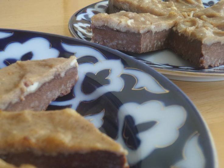 Sweet Brownie Protein Bars - perfect for a post-gym snack or a family dessert!