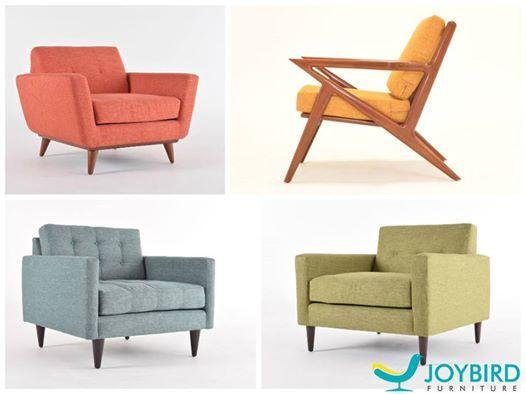 Beautiful new mid-century style chairs by Joybird.