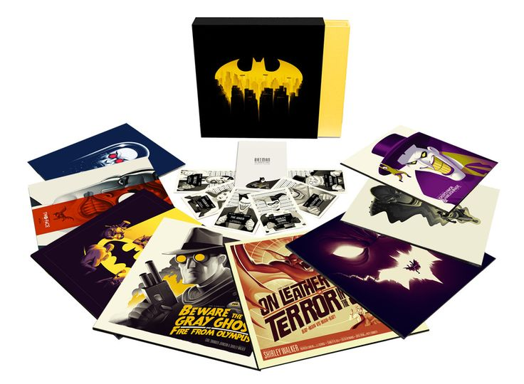 BATMAN: THE ANIMATED SERIES Vinyl Box Set – Mondo, Pris: $225
