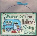 Image detail for - PERSONALIZED-CAMPER-CAMPING-DECOR-RV-TRAVEL-TRAILER-WELCOME-WALL-SIGN ...