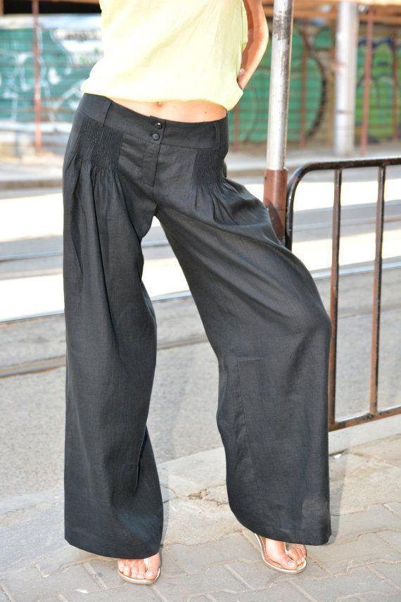 best 25+ wide leg linen pants ideas on pinterest | wide legged