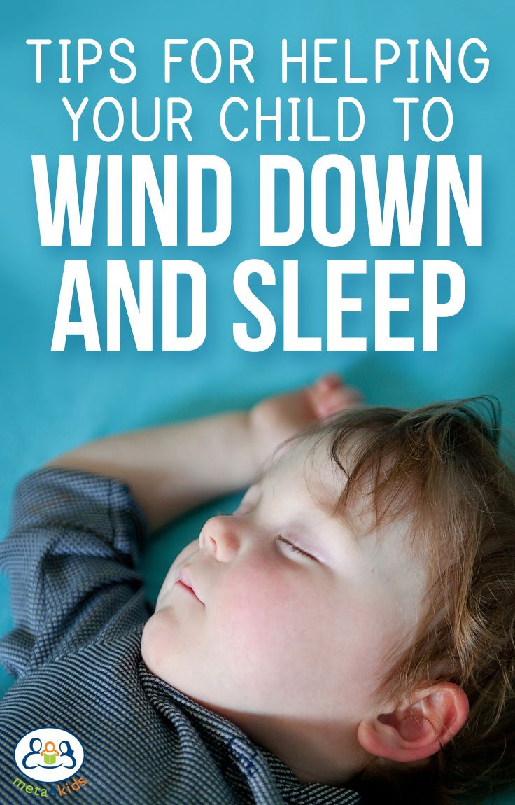 Tips for Helping Your Child to Wind Down and Sleep Bedtime can quickly turn into a nightmare for an energetic child who hasn't had the opportunity to relax and prepare for sleep. http://meta4kids.com.au/Tips-for-Helping-Your-Child-to-Wind-Down-and-Sleep-bgp3068.html