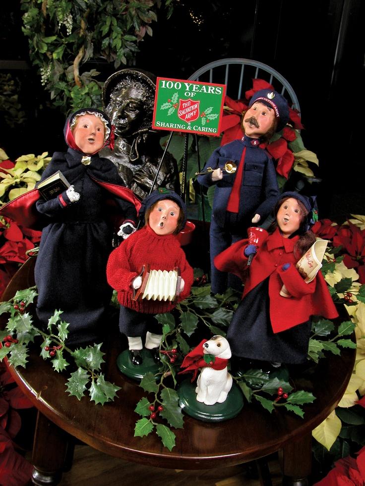 Salvation Army carolers.Karen Choice, Choice Carol, Choice Collection, Byers Choice, Gift Ideas, Army Carol, Dingen Voor, Christmas Ideas, Byers Carol