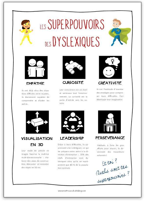 forces liées à la dyslexie