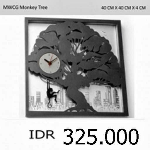 MWCG Monkey Tree - GALLERY JAM DINDING UNIK