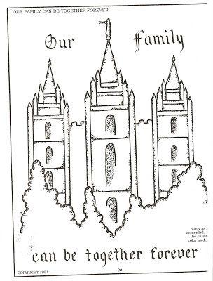 lds temple coloring pages lds nursery color pages september 2007 - Nursery Coloring Pages