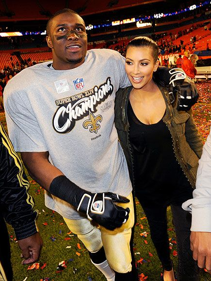 After three years of on-and-off romance, Kim Kardashian and her NFL beau Reggie Bush called it quits for the second time in March 2010. This time the split seemed to be for good: By June, Kardashian began playing the field with another football star – Dallas Cowboy Miles Austin.