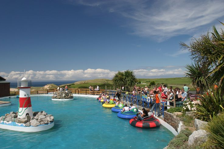 Things to do in Cornwall - Holywell Fun Park