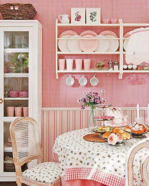Querido Refúgio, Blog de decoração e organização com loja virtual: Cozinha Romântica, com jeito da casa de vó