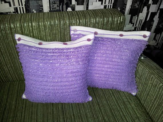Pillow crochet for home decor Decorative pillow crochet