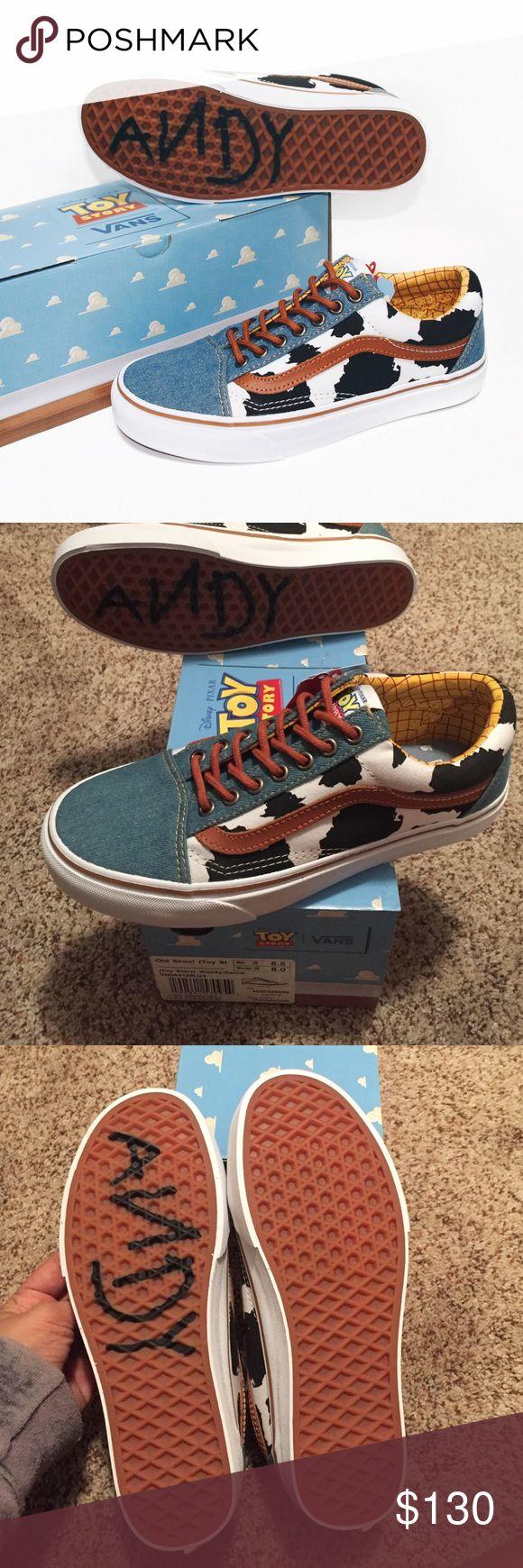 Vans Toy Story Woody granate