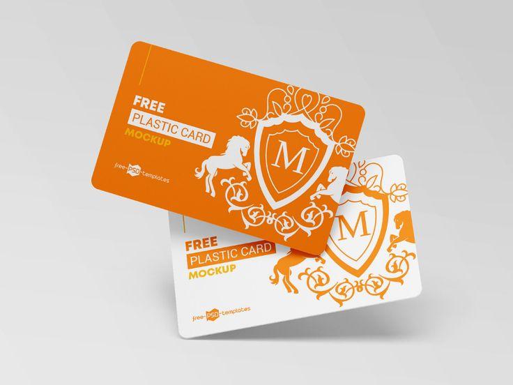 Free Plastic Cards Mockup On Behance Plastic Card Design Freebie Logo Design Presentation