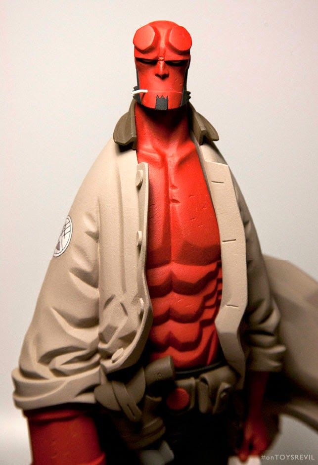 TOYSREVIL: Revealed: 1/6 Hellboy Mignola french resin statue from Fariboles…
