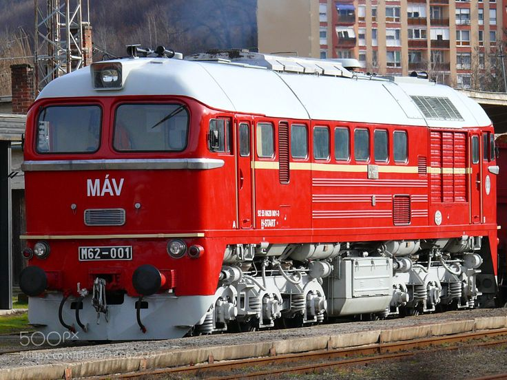 Hungarian State Railways M62-001 Sergei Diesel Locomotive by DxcMc