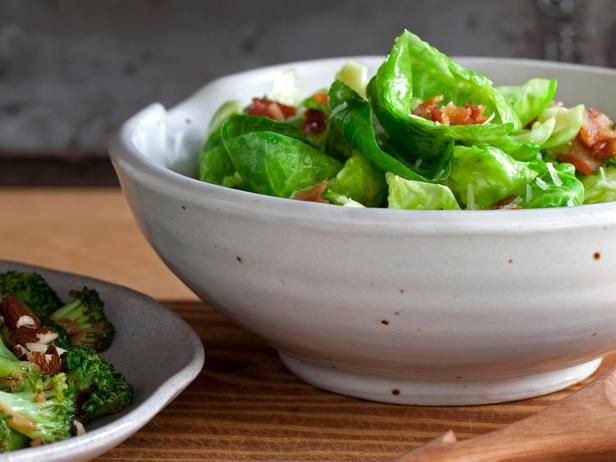 Brussels Sprouts Salad Recipe : Chuck Hughes : Recipes : Cooking Channel