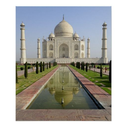 The Taj Mahal, Agra, Uttar Pradesh, India, Print