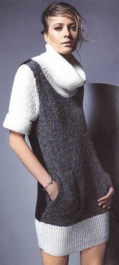 DRESS, BURDA Knitting