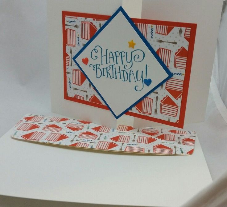 Lot of 6 Cute Happy Birthday cards made w/ Stampin' Up! w/matching envelopes #Handmade #BirthdayAdult