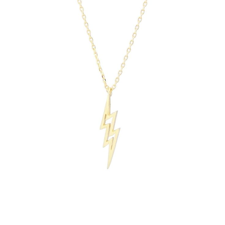 Eclair Gold Necklace