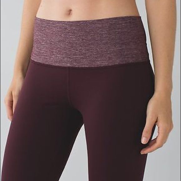 NWT Lululemon Groove Pant in Bordeaux 4 6 R & TALL Sizes 4R 4T 6T - price is firm - thanks ! lululemon athletica Pants