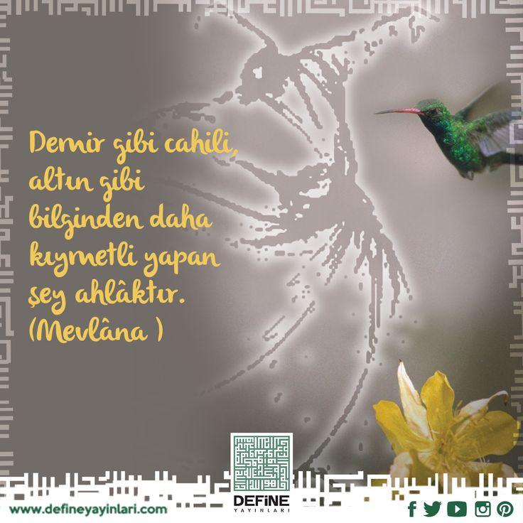 Peygamber Efendimiz'in (s.a.s) ahlâkıyla ahlâklananlardan olmamız dileğiyle… #mevlana #ozlusozler #guzelsozler #beautiful #islam #din #dua #iman #edeb