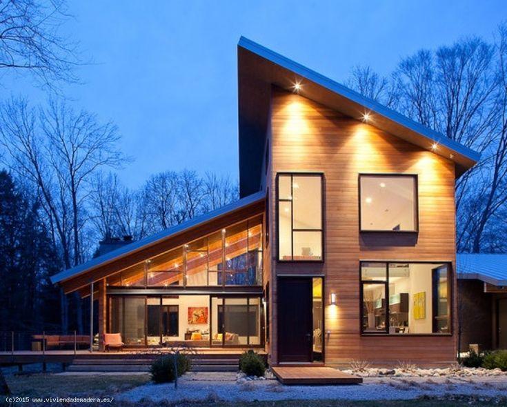 Viviendas de Madera - Casas de Madera - de madera y cemento ref. 129,90 m²