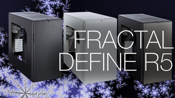 Fractal Design Define R5 Ultra Silent Case Unboxing and Overview