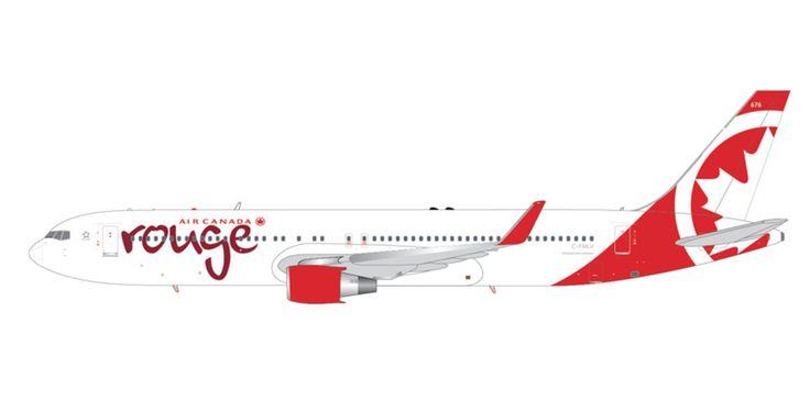 1/200 GeminiJets Air Canada Rouge Boeing 767-300 Diecast Model