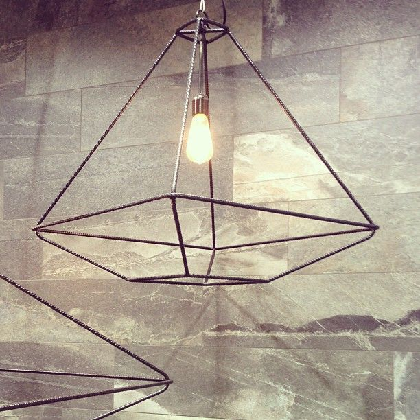 Cool lights at the Italgraniti Group booth. -CW #cersaie #cersaie2013 ceramicsofitaly by design_milk