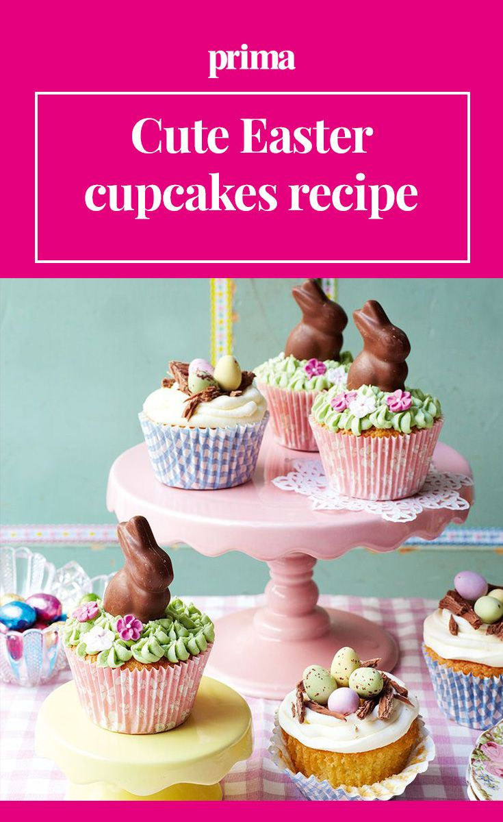 Cute Easter Cupcakes Recipe With Images Easter Cupcake