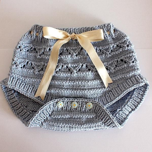 Knitting: Baby Pants Diaper Cover $4.99