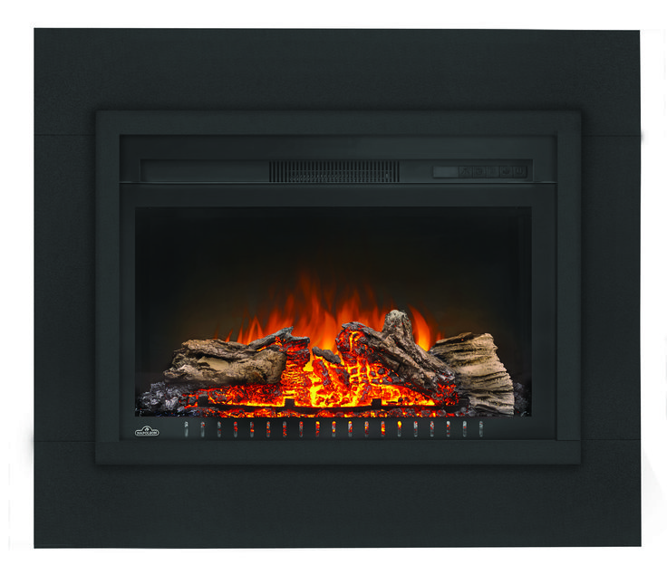 Make your living space inviting with the warm glow from the Napoleon Cinema™ Log 27 Electric Fireplace. This fireplace doesn't need venting and will still fill your room with 5,000 BTU's of warmth.