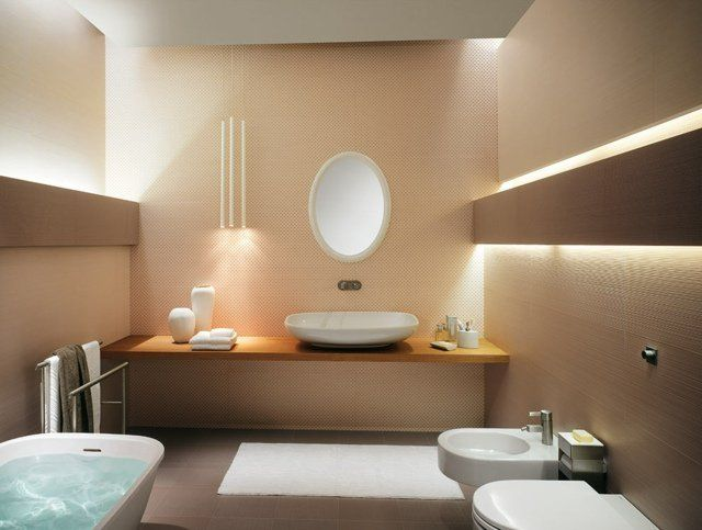8 best Salle de bain images on Pinterest Bathroom ideas, Bathroom - carrelage marron salle de bain