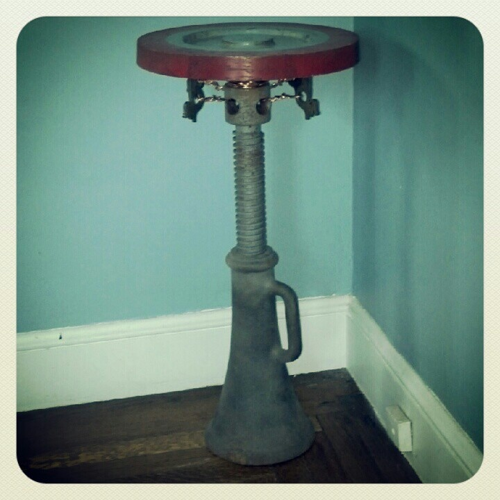 cool side table made from found parts interesting 20 creative stunning side table modern furniture design