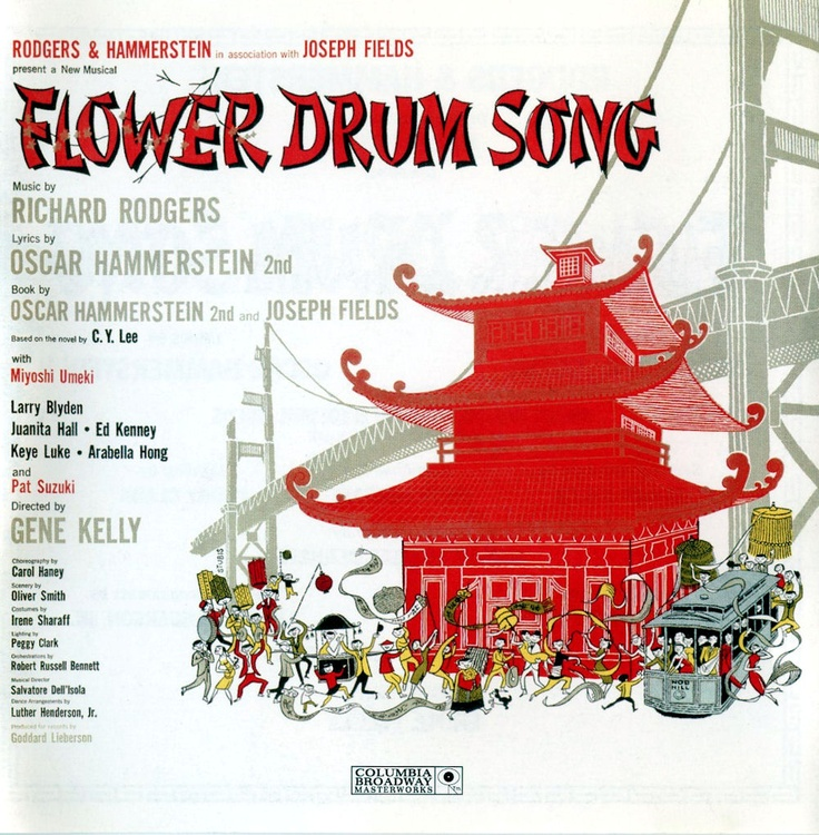 Great album cover Flower drum, Songs, Musical movies