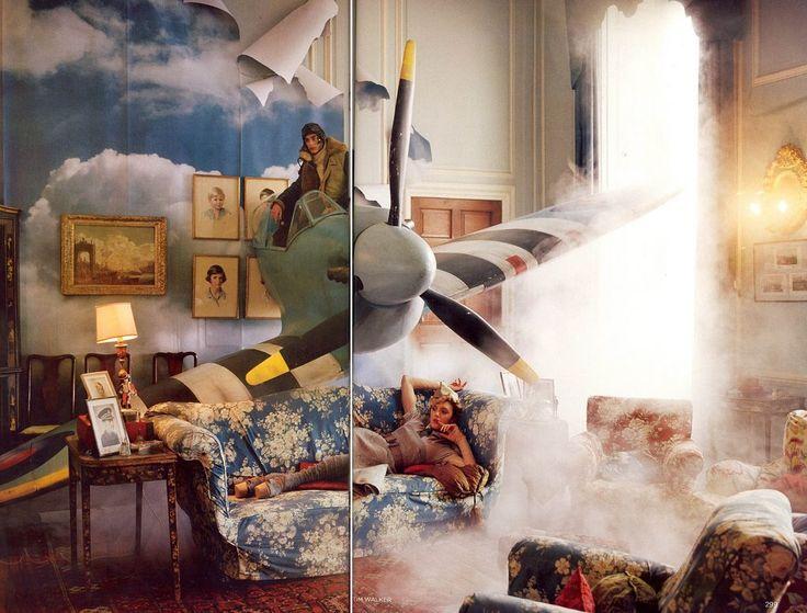 """Tweedland"" The Gentlemen's club: Tim Walker ... Englishness ... Nostalgia ... Surrealism ... Romanticism ... Visions ..."