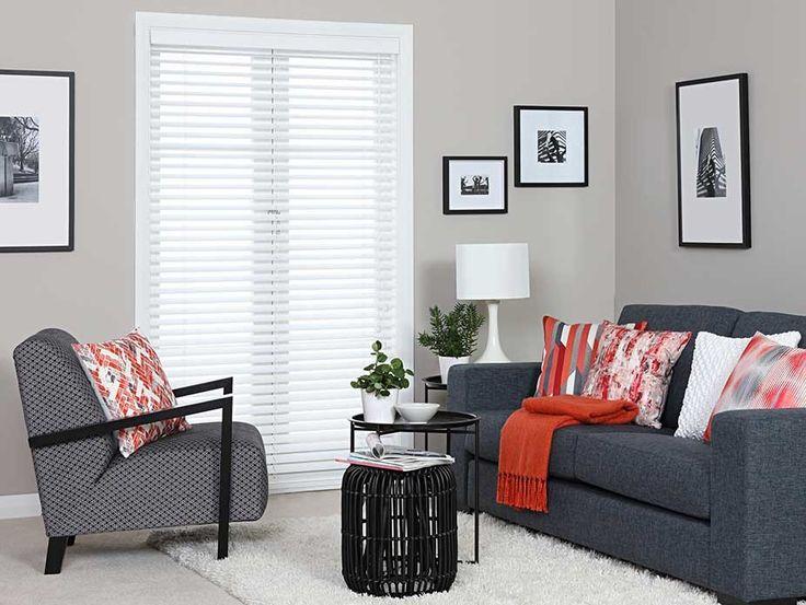 Custom Made Zebro Synthetic Wood Venetian Blinds - Synthetic wood venetian blinds are ideal for high moisture areas.