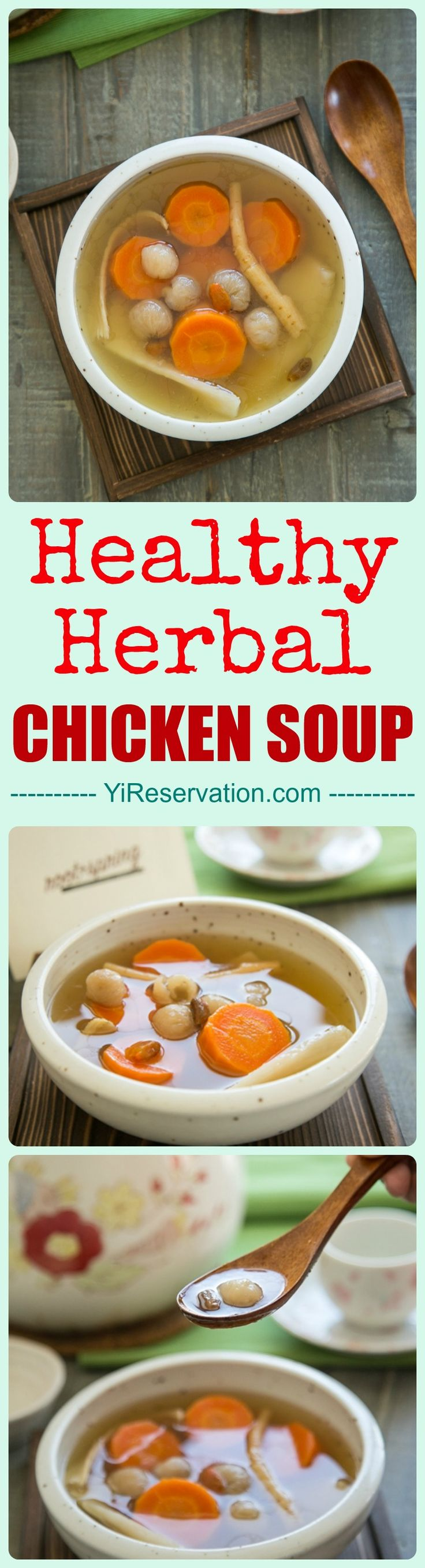 [How to] This delicious and healthy Chinese herbal chicken soup recipe not only warms your heart but also heals your body and soul.